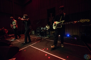 SEATTLE, WA - MAY 10: Iceage performs at The Nordic Heritage Museum in Seattle on May 10, 2018. (Photo: Kevin Tosh/Aesthetic Magazine)