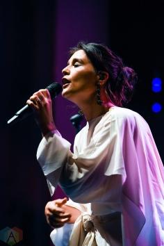 TORONTO, ON - MAY 03: Jessie Ware performs at Danforth Music Hall in Toronto on May 03, 2018. (Photo: Jaime Espinoza/Aesthetic Magazine)