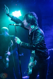 TORONTO, ON - MAY 30: Johnny Marr performs at Velvet Underground in Toronto on May 30, 2018. (Photo: David McDonald/Aesthetic Magazine)