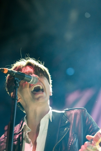 TORONTO, ON - MAY 26: July Talk performs at CBC Music Festival at Echo Beach in Toronto on May 26, 2018. (Photo: Jaime Espinoza/Aesthetic Magazine)