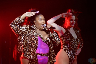 TORONTO, ON - MAY 07: Lizzo performs at Massey Hall in Toronto on May 07, 2018. (Photo: Julian Avram/Aesthetic Magazine)