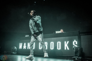 TORONTO, ON - MAY 06: Manu Crooks performs at Rebel in Toronto on May 06, 2018. (Photo: Joanna Glezakos/Aesthetic Magazine)