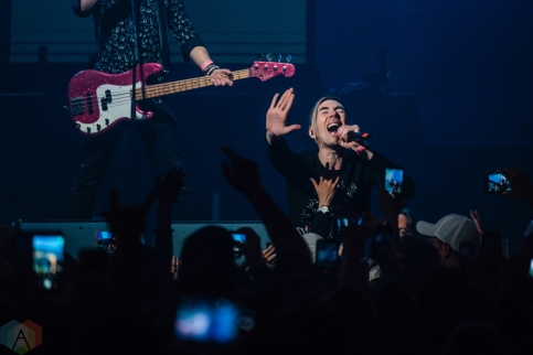 TORONTO, ON - MAY 11: Marianas Trench performs at iHeartRadio FanFest in Toronto on May 11, 2018. (Photo: Nicole De Khors/Aesthetic Magazine)