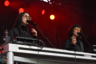 TORONTO, ON - MAY 26: Milk And Bone performs at CBC Music Festival at Echo Beach in Toronto on May 26, 2018. (Photo: Jaime Espinoza/Aesthetic Magazine)
