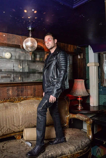 NEW YORK, NY - MAY 01: Morgxn poses for a backstage portrait at The Box in New York City on May 01, 2018. (Photo: Alex Bear/Aesthetic Magazine)