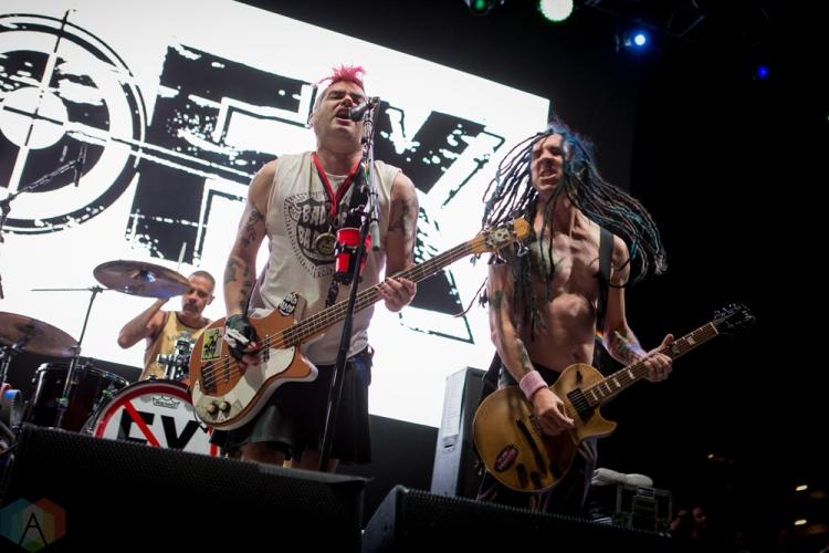 LAS VEGAS, NV - MAY 27: NOFX performs at Punk Rock Bowling in Las Vegas on May 27, 2018. (Photo: Meghan Lee/Aesthetic Magazine)