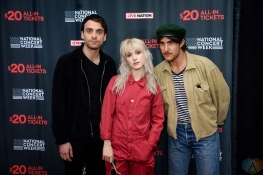 NEW YORK, NY – APRIL 30 - Paramore attends the Live Nation National Concert Week press day at Hammerstein Ballroom in New York City on April 30, 2018. (Photo: Alex Bear/Aesthetic Magazine)