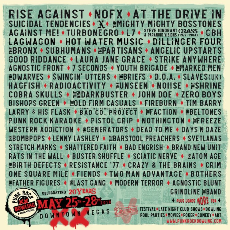 Punk Rock Bowling 2018