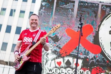 LAS VEGAS, NV - MAY 26: Resistance '77 performs at Punk Rock Bowling in Las Vegas on May 26, 2018. (Photo: Meghan Lee/Aesthetic Magazine)