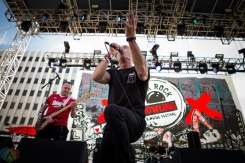 LAS VEGAS, NV - MAY 26: Resistance '77 performs at Punk Rock Bowling in Las Vegas on May 26, 2018. (Photo: Meghan Lee/Aesthetic Magazine)