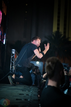LAS VEGAS, NV - MAY 26: Rise Against performs at Punk Rock Bowling in Las Vegas on May 26, 2018. (Photo: Meghan Lee/Aesthetic Magazine)