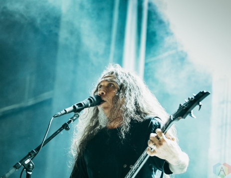 TORONTO, ON - MAY 29: Slayer performs at Budweiser Stage in Toronto on May 29, 2018. (Photo: David Scala/Aesthetic Magazine)