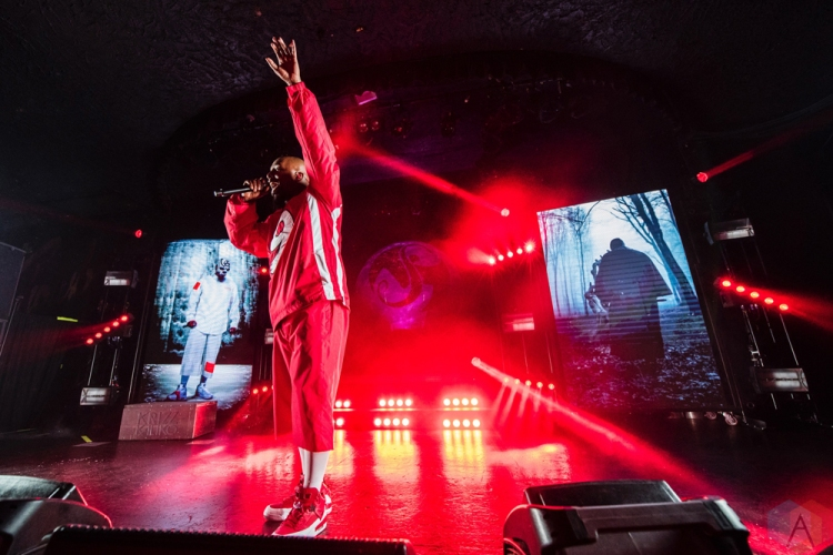 SEATTLE, WA - APRIL 30: Tech N9ne performs at Showbox in Seattle on April 30, 2018. (Photo: Kevin Tosh/Aesthetic Magazine)