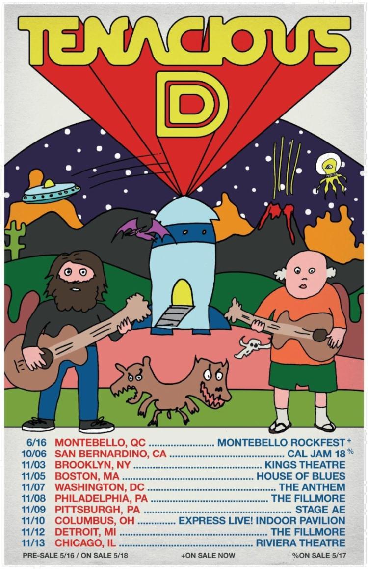 Tenacious D 2018 Tour