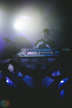 SEATTLE, WA - May 19: The Glitch Mob performs at Showbox SoDo in Seattle on May 19, 2018. (Photo: Dan Hager/Aesthetic Magazine)