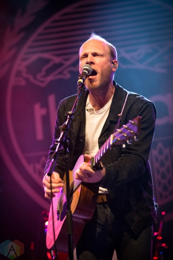 TORONTO, ON - MAY 12: The Rural Alberta Advantage performs at Phoenix Concert Theatre in Toronto on May 12, 2018. (Photo: Brendan Albert/Aesthetic Magazine)