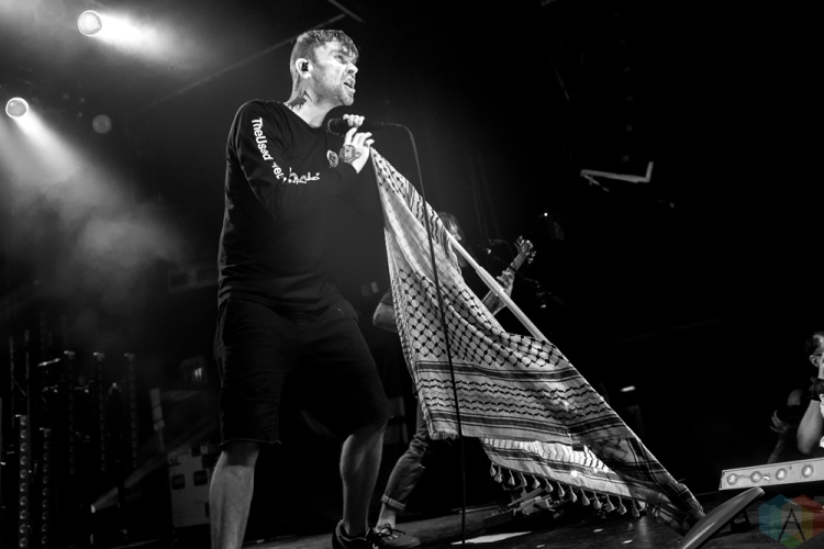 TORONTO, ON - MAY 08: The Used performs at Phoenix Concert Theatre in Toronto on May 08, 2018. (Photo: Morgan Harris/Aesthetic Magazine)