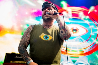 LAS VEGAS, NV - MAY 27: Turbonegro performs at Punk Rock Bowling in Las Vegas on May 27, 2018. (Photo: Meghan Lee/Aesthetic Magazine)