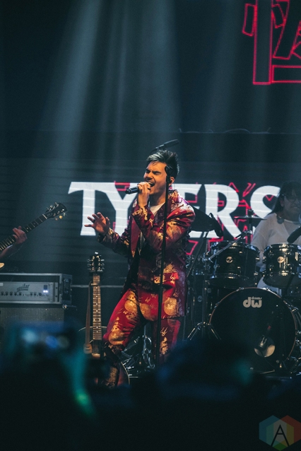 TORONTO, ON - MAY 11: Tyler Shaw performs at iHeartRadio FanFest in Toronto on May 11, 2018. (Photo: Nicole De Khors/Aesthetic Magazine)