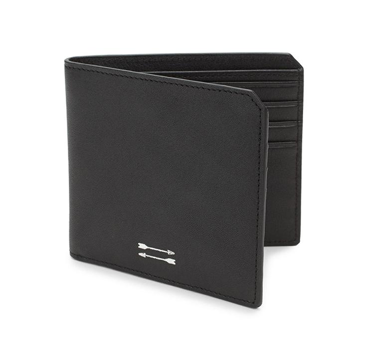 uri minkoff black Vesper Leather Wallet