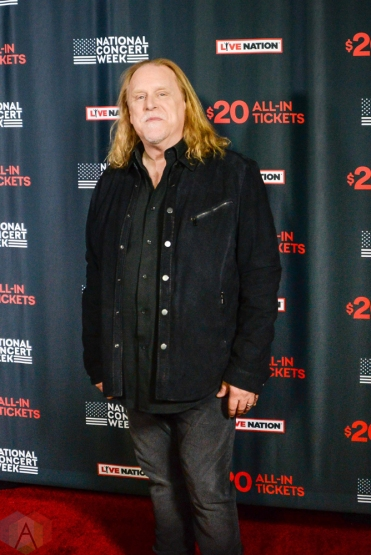 NEW YORK, NY – APRIL 30 - Warren Haynes of Gov't Mule attends the Live Nation National Concert Week press day at Hammerstein Ballroom in New York City on April 30, 2018. (Photo: Alex Bear/Aesthetic Magazine)
