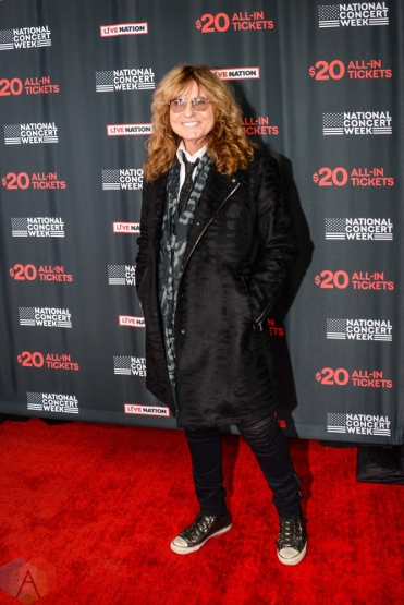 NEW YORK, NY – APRIL 30 - David Coverdale of Whitesnake attends the Live Nation National Concert Week press day at Hammerstein Ballroom in New York City on April 30, 2018. (Photo: Alex Bear/Aesthetic Magazine)