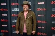 NEW YORK, NY – APRIL 30 - John Driskell Hopkins of Zac Brown Band attends the Live Nation National Concert Week press day at Hammerstein Ballroom in New York City on April 30, 2018. (Photo: Alex Bear/Aesthetic Magazine)