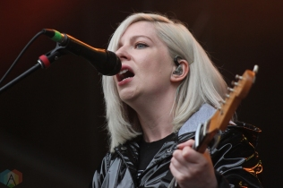 TORONTO, ON - JUNE 03: Alvvays performs at Field Trip Music Festival in Toronto on June 03, 2018. (Photo: Curtis Sindrey/Aesthetic Magazine)
