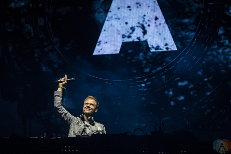 TORONTO, ON - JUNE 24: Armin Van Buuren performs at Dreams Festival at Echo Beach in Toronto on June 24, 2018. (Photo: Brendan Albert/Aesthetic Magazine)