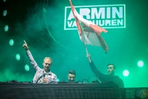 TORONTO, ON - JUNE 24: Armin Van Buuren performs at Dreams Festival at Echo Beach in Toronto on June 24, 2018. (Photo: Brendan Albert/Aesthetic Magazine)