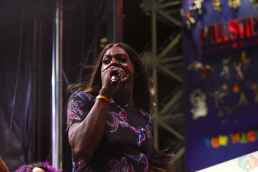TORONTO, ON - JUNE 17: Big Freedia performs at NXNE 2018 at Yonge-Dundas Square in Toronto on June 17, 2018. (Photo: Curtis Sindrey/Aesthetic Magazine)