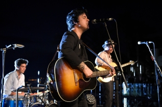 CANNES, FRANCE - JUNE 20: Billie Joe Armstrong performs during A Special Evening With Billie Joe Armstrong at Cannes Lions at Villa Alang Alang on June 20, 2018 in Cannes, France. (Photo: Kevin Mazur/Getty)