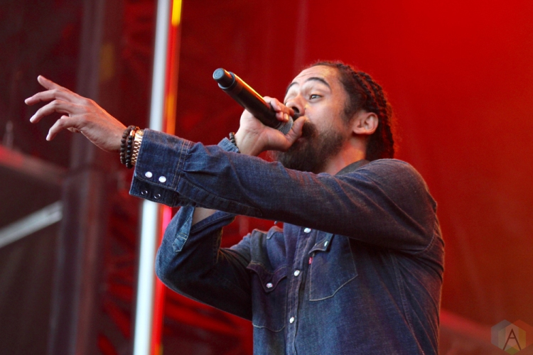 TORONTO, ON - JUNE 02: Damian Marley performs at Field Trip Music Festival in Toronto on June 02, 2018. (Photo: Curtis Sindrey/Aesthetic Magazine)