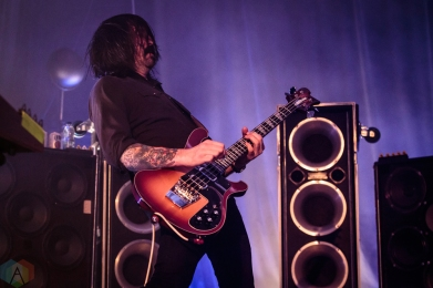 TORONTO, ON - MAY 31: Death From Above performs at Phoenix Concert Theatre in Toronto on May 31, 2018. (Photo: David McDonald/Aesthetic Magazine)