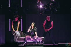 MANCHESTER, UK - JUNE 16: Demi Lovato performs at Manchester Arena in Manchester, UK on June 16, 2018. (Photo: Priti Shikotra/Aesthetic Magazine)