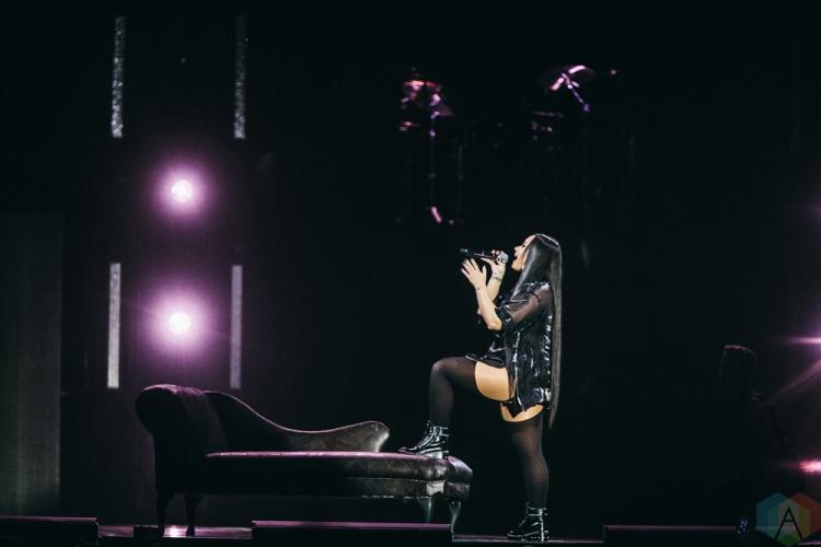 MANCHESTER, UK - JUNE 16: Demi Lovato performs at Manchester Arena in Manchester, UK on June 16, 2018. (Photo: Priti Shikotra/Aesthetic Magazine)