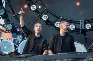 TORONTO, ON - JUNE 24: Galantis performs at Dreams Festival at Echo Beach in Toronto on June 24, 2018. (Photo: Brendan Albert/Aesthetic Magazine)