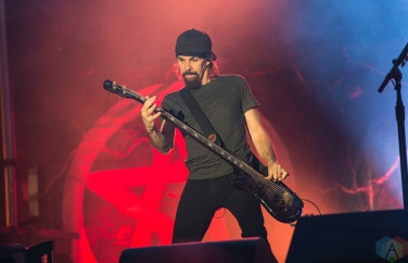 MONTEBELLO, QC - JUNE 15: Godsmack performs at Montebello Rockfest in Montebello, Quebec on June 15, 2018. (Photo: Greg Matthews/Aesthetic Magazine)