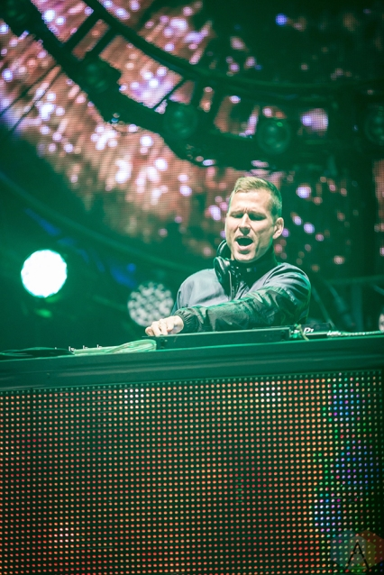 TORONTO, ON - JUNE 23: Kaskade performs at Dreams Festival at Echo Beach in Toronto on June 23, 2018. (Photo: Brendan Albert/Aesthetic Magazine)