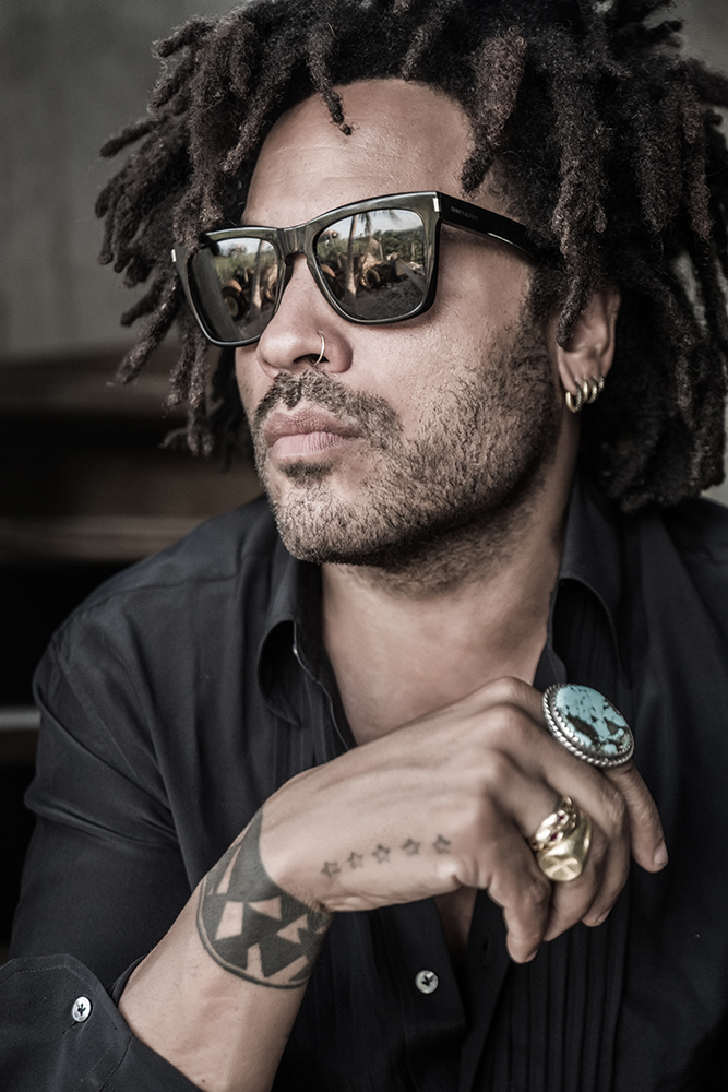 Lenny Kravitz. (Photo: Mathieu Bitton)