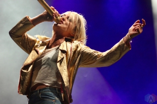 TORONTO, ON - JUNE 02: Metric performs at Field Trip Music Festival in Toronto on June 02, 2018. (Photo: Curtis Sindrey/Aesthetic Magazine)