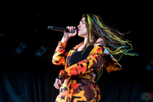 TORONTO, ON - JUNE 06: Misterwives performs at Budweiser Stage in Toronto on June 06, 2018. (Photo: Janine Van Oostrom/Aesthetic Magazine)