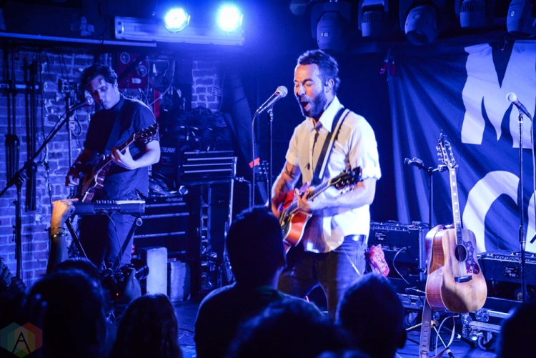NEW YORK, NY - JUNE 13: Mondo Cozmo performs at Mercury Lounge In New York City on June 13, 2018. (Photo: Alex Bear/Aesthetic Magazine)