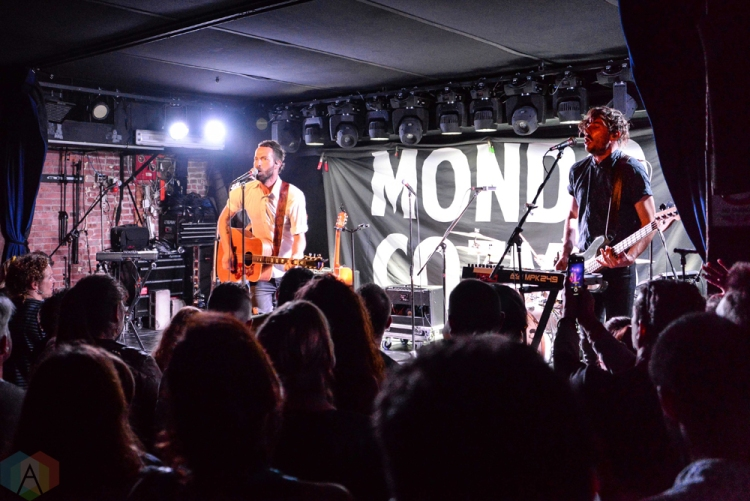 NEW YORK, NY - JUNE 13: Mondo Cozmo performs at Mercury Lounge In New York City on June 13, 2018. (Photo: Alex Bear/Aesthetic Magazine)