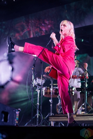 TORONTO, ON - JUNE 18: Paramore performs at Budweiser Stage in Toronto on June 18, 2018. (Photo: Katrina Lat/Aesthetic Magazine)