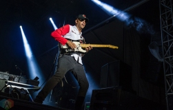 MONTEBELLO, QC - JUNE 15: Prophets of Rage performs at Montebello Rockfest in Montebello, Quebec on June 15, 2018. (Photo: Greg Matthews/Aesthetic Magazine)
