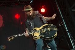 MONTEBELLO, QC - JUNE 15: Rancid performs at Montebello Rockfest in Montebello, Quebec on June 15, 2018. (Photo: Greg Matthews/Aesthetic Magazine)