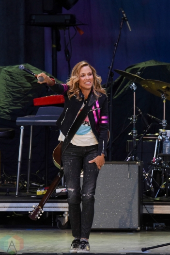 TORONTO, ON - JUNE 15: Sheryl Crow performs at Budweiser Stage in Toronto on June 15, 2018. (Photo: Jaime Espinoza/Aesthetic Magazine)