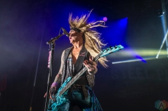MONTEBELLO, QC - JUNE 16: Steel Panther performs at Montebello Rockfest in Montebello, Quebec on June 16, 2018. (Photo: Greg Matthews/Aesthetic Magazine)
