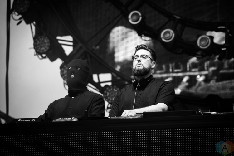 TORONTO, ON - JUNE 23: Tchami x Malaa performs at Dreams Festival at Echo Beach in Toronto on June 23, 2018. (Photo: Brendan Albert/Aesthetic Magazine)